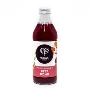 Meraki Ferments bebida kombucha sabor beet bomb