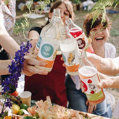 Meraki Ferments bebida kombucha pack personalizado