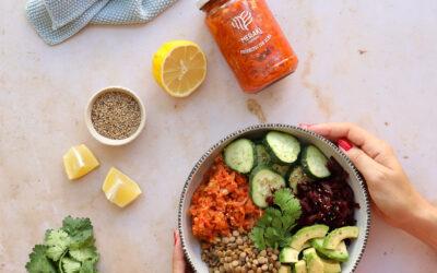 HEALTHY BOWL al estilo Meraki Ferments