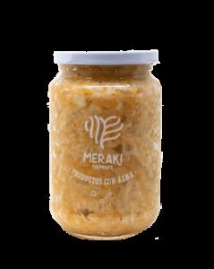 Meraki Ferments kombucha bebida sabor Panela & limón